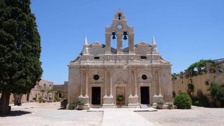 Holy Monastery of Arkadi | © Prekario/WikiCommons