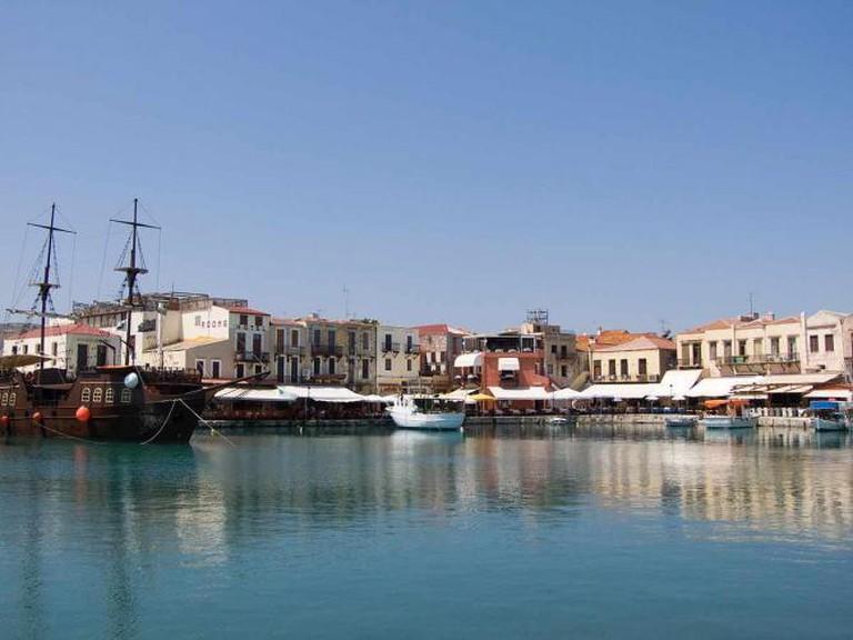 Old harbor of Rethymno | © ViseMoD/WikiCommons