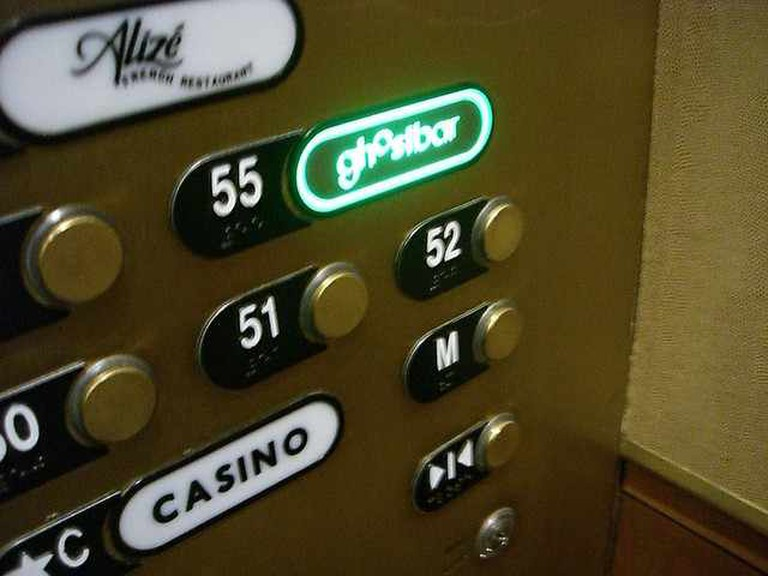 Ghostbar Elevator