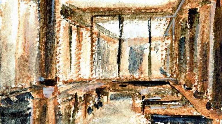 An artistic impression of Café Comercial