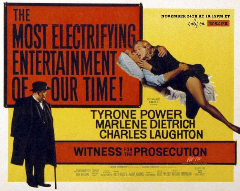 Promotional poster for Witness for the Prosecution