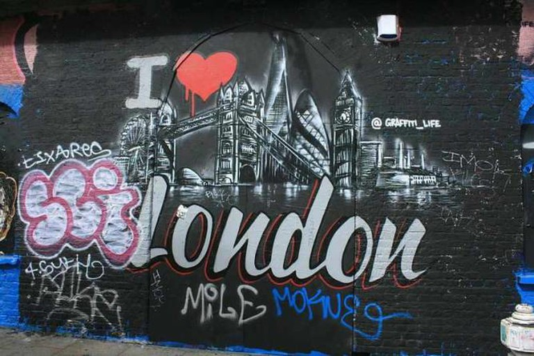 A Creative Commons Image: Shoreditch Graffiti © KylaBorg