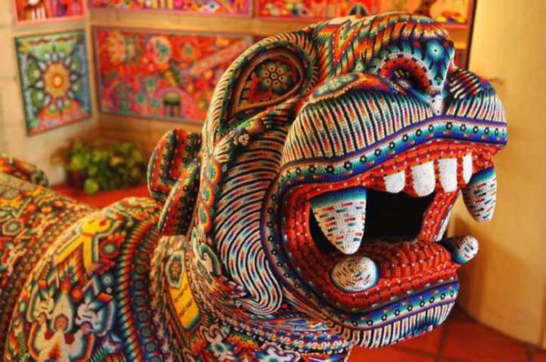 Huichol Art | © Wonderlane/WikiCommons