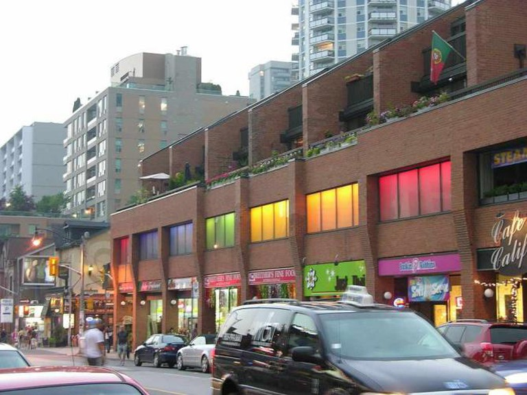 Gay Toronto View Down Church