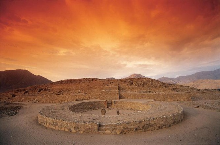 Caral city | © Michael Tweddle