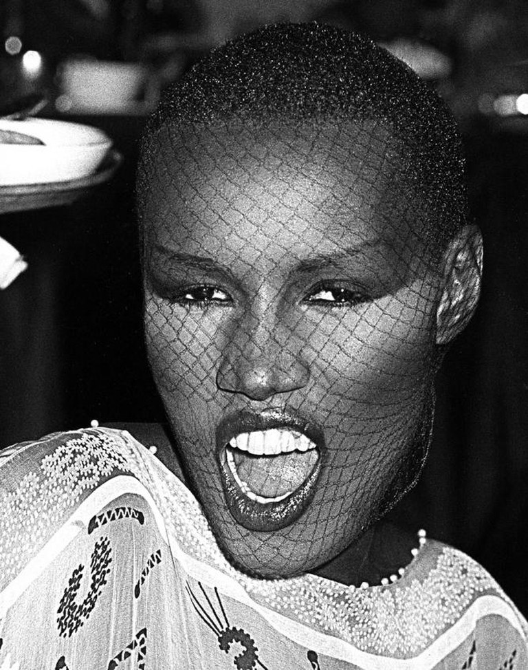 Grace Jones | © Ron Galella/ Flickr