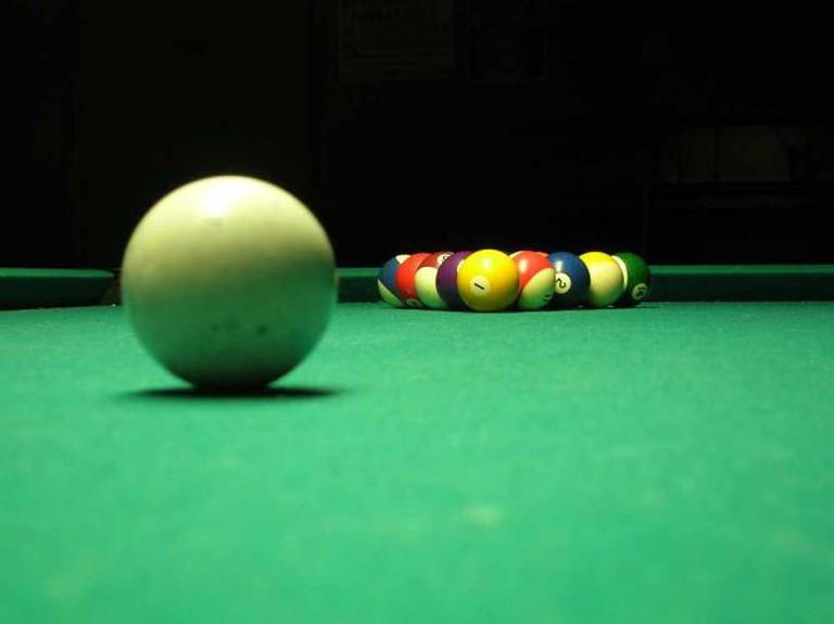 Billiards | © William Clifford/Flickr