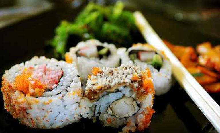 Sushi rolls | © Yuchinlo Chiya/Flickr