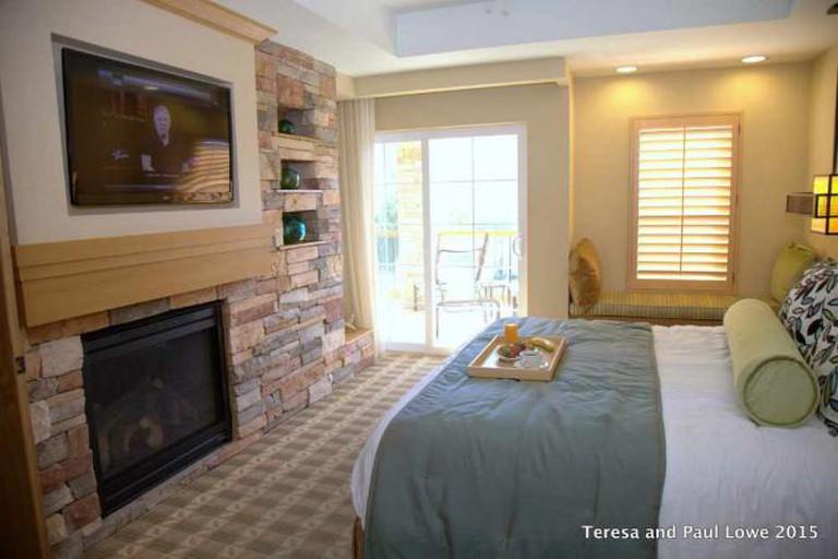 Mountain Villa Suite Master Bedroom at Welk Resort San Diego