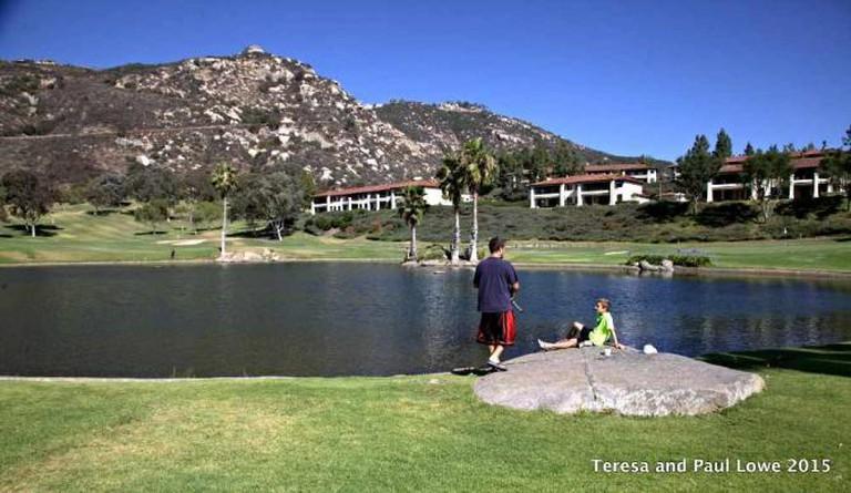 Fun fishing at Welk Resort San Diego