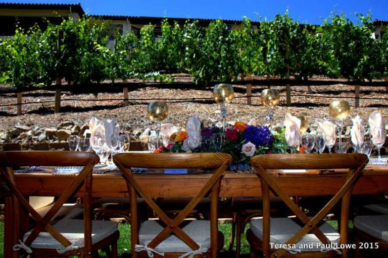 A unique wine and dining experience in the vineyard at Welk Resort San Diego