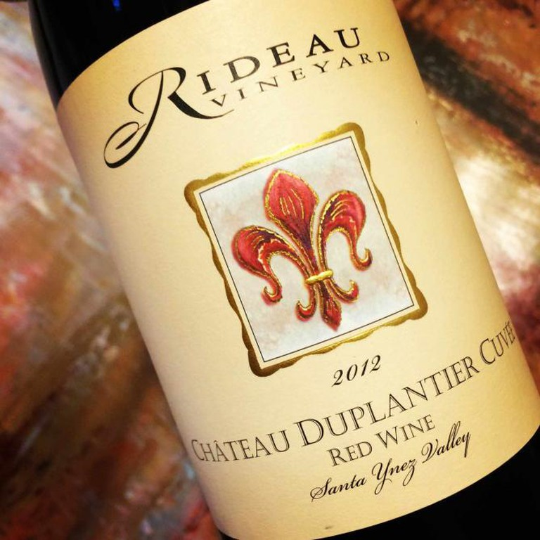 A bottle of Rideau Vineyard's 2012 Chateau Duplantier Cuvee (Aaron St. Clair/theculturetrip)