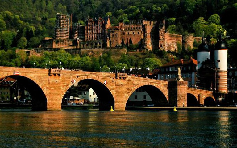 Heidelberg old bridge and castle | © Rane.abhijeet/WikiCommons