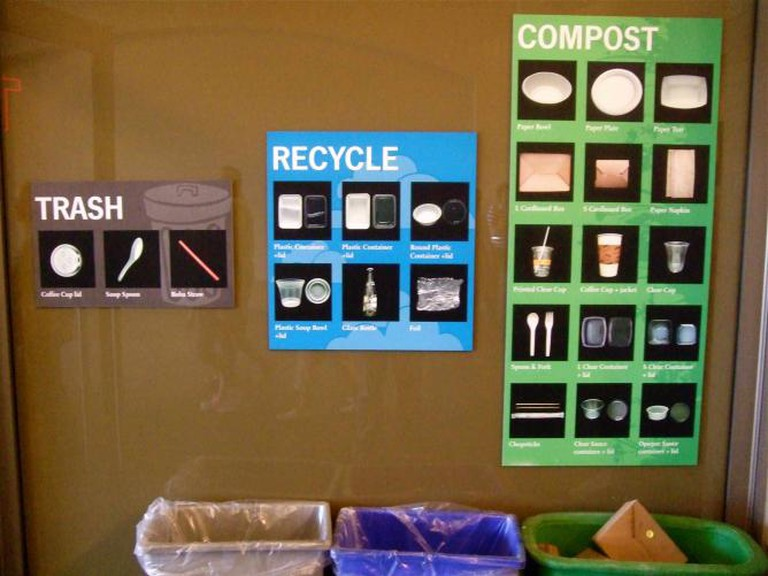 Waste reduction initiatives in SF