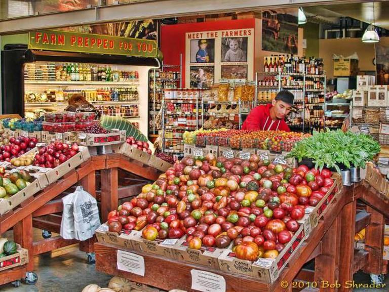 Local produce © Bob Shrader/Flickr