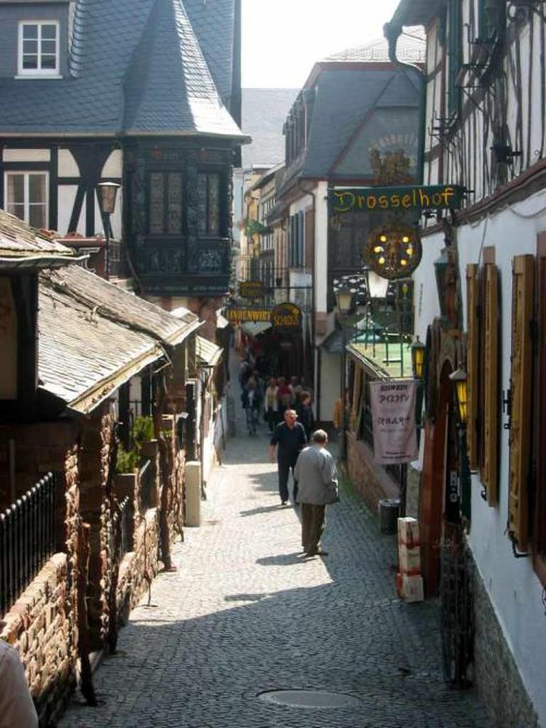 The historic Drosselgasse I © Sciarinen/WikiCommons