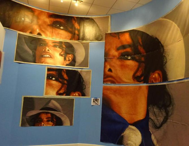 Kent Twitchell's Mural of Michael Jackson