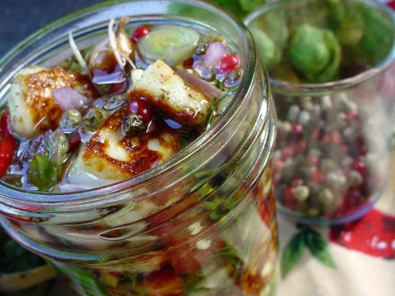 Marinated Paneer & Veggies| © George Wesley & Bonita Dannells/Flickr