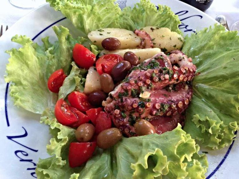 Belforte seafood dish