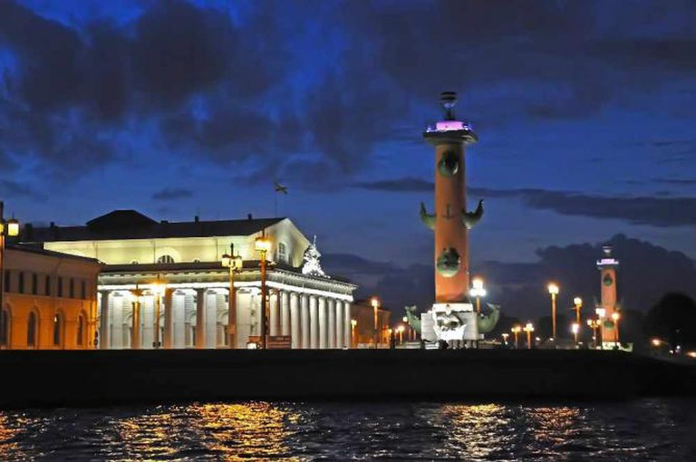 The island's Rostral columns