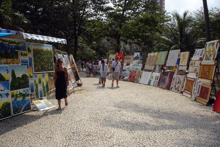 Feira Hippie de Ipanema © Renato Sil/Flickr