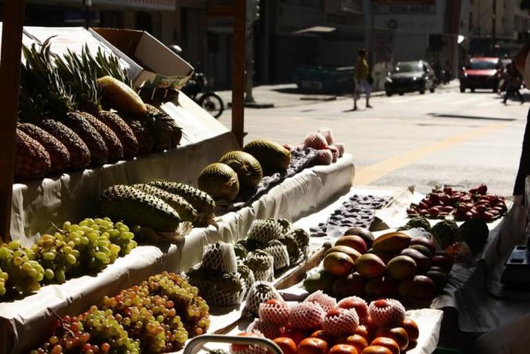 A fruit market in Rio © Augusto Barbosa/Flickr