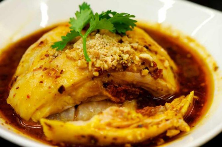 Traditional Sichuanian Mouth-watering Chicken