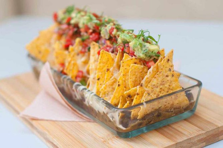 Aguaribay nachos | Image courtesy of Aguaribay