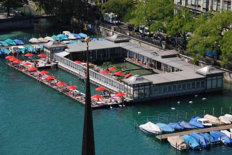 Zurich's Frauenbad/Barfussbar I © Pierangelo66/WikiCommons