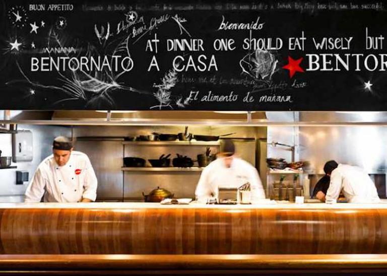 The open kitchen at Euro Bar & Restaurant | Image courtesy of Euro Bar & Restaurant