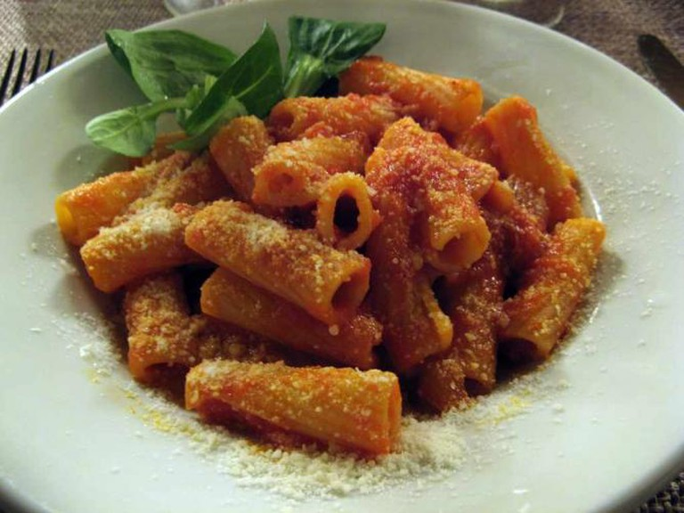Maccheroni all'amatriciana | Randy OHC/Flickr