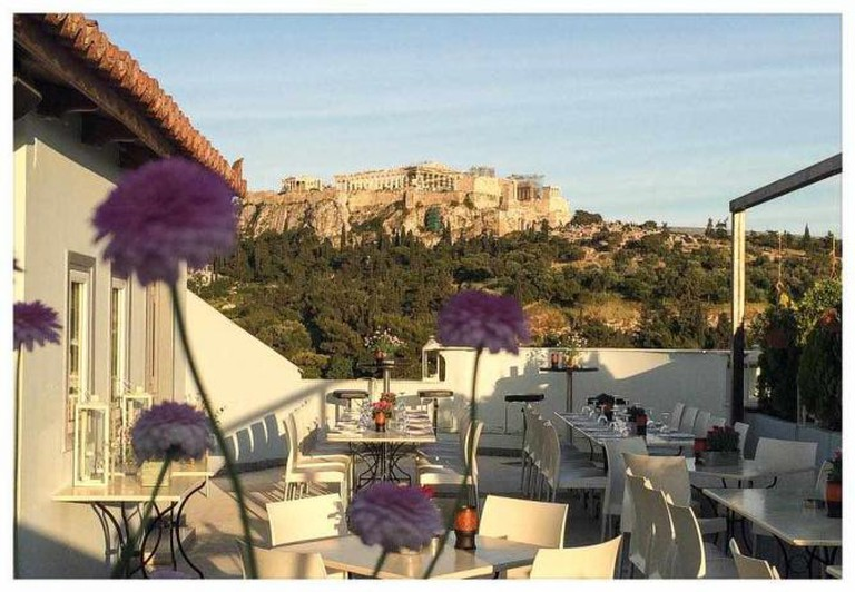 Acropolis view from Sin Athina | Courtesy of Sin Athina
