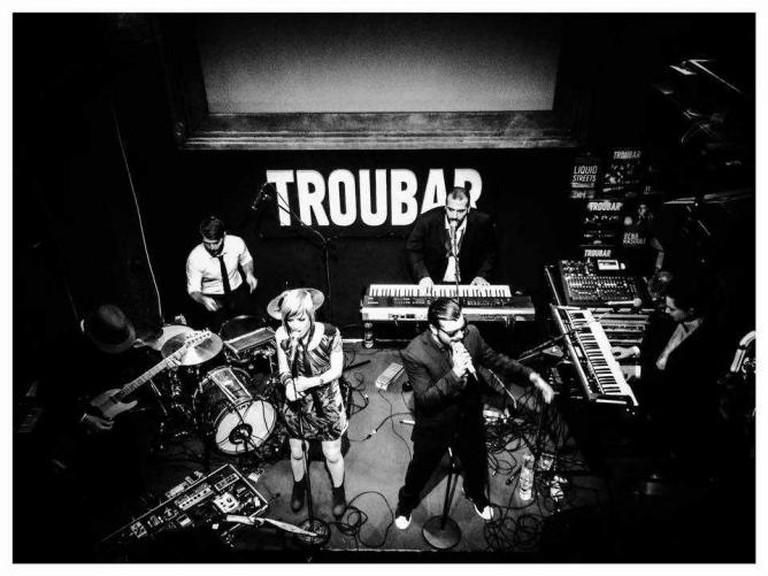 Rock concert at Troubar   Courtesy of Troubar