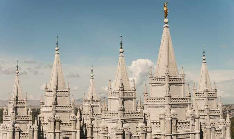 View of Salt Lake Temple |© Jacqueline Poggie/Flickr
