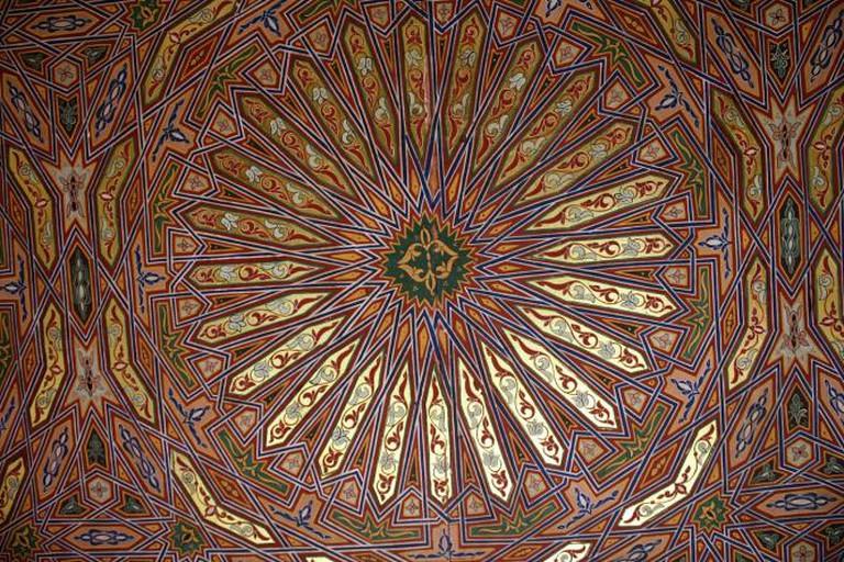 Ceiling of Riad Ibn Battouta