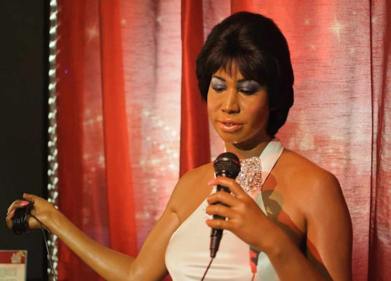 Aretha Franklin at Madame Tussaud's New York | © InSapphoWeTrust/Flickr