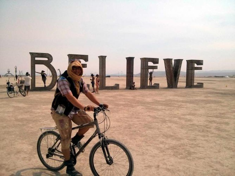 Burning Man 2013: BELIEVE l © Cory Doctorow/flickr