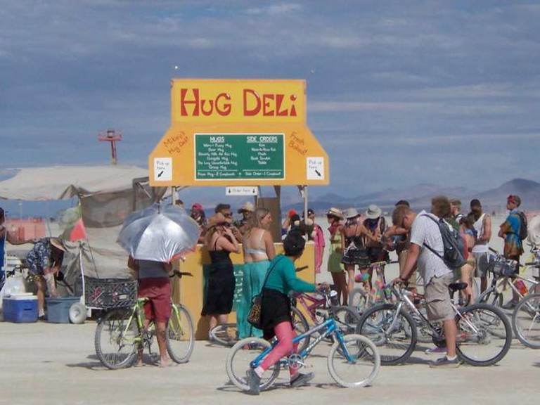 Burning Man: Free Hugs! l © Stacy Gebhardt