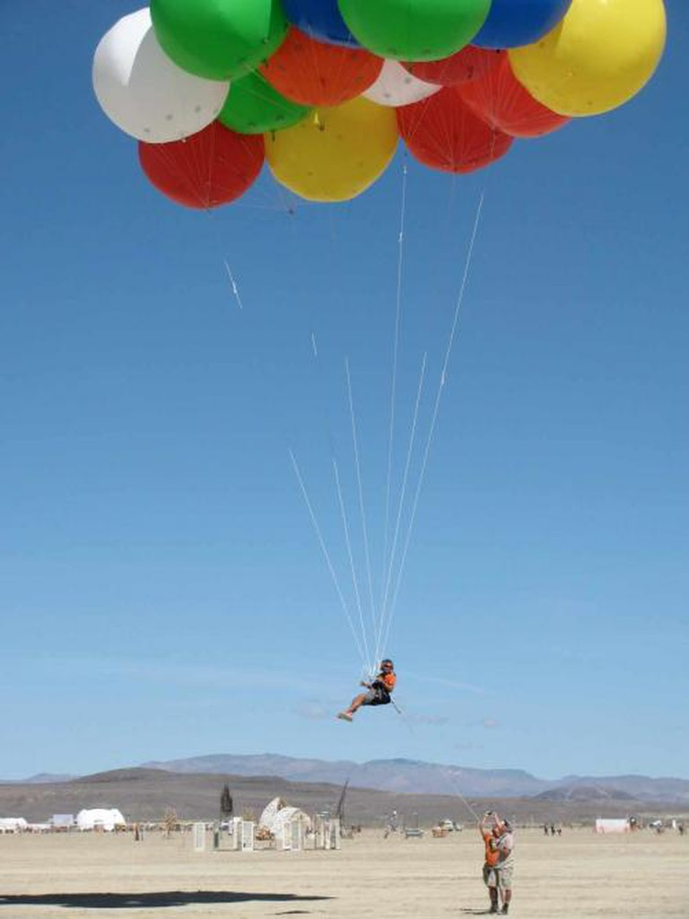 Burning Man: Up Up and Away l © Stacy Gebhardt