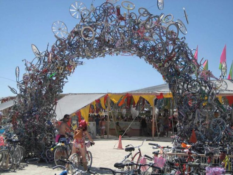 Burning Man: Got Bikes? l © Stacy Gebhardt