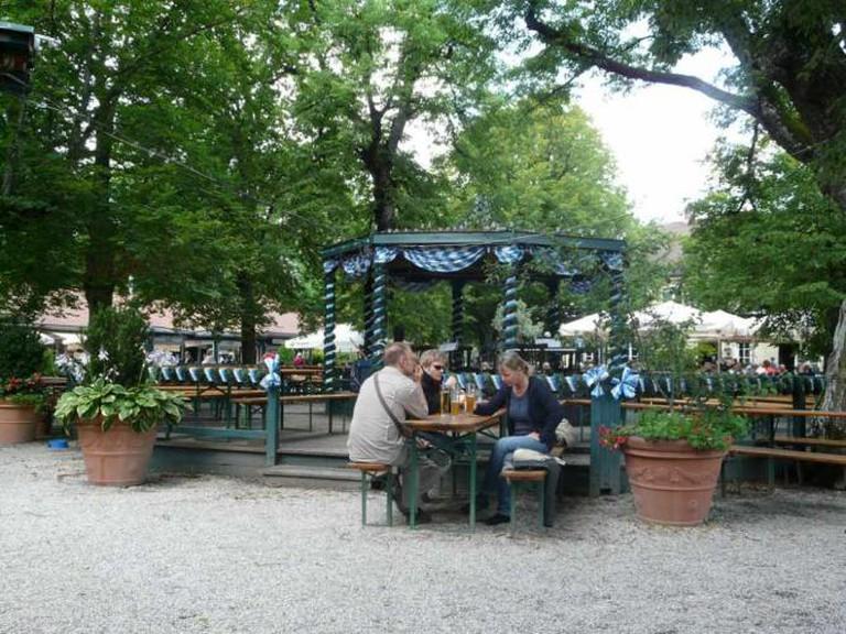 Biergarten Waldwirtschaft München | © sanfamedia.com/Flickr