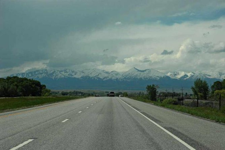 The I-90 Highway in Billings  ©Randy Watson/Flickr