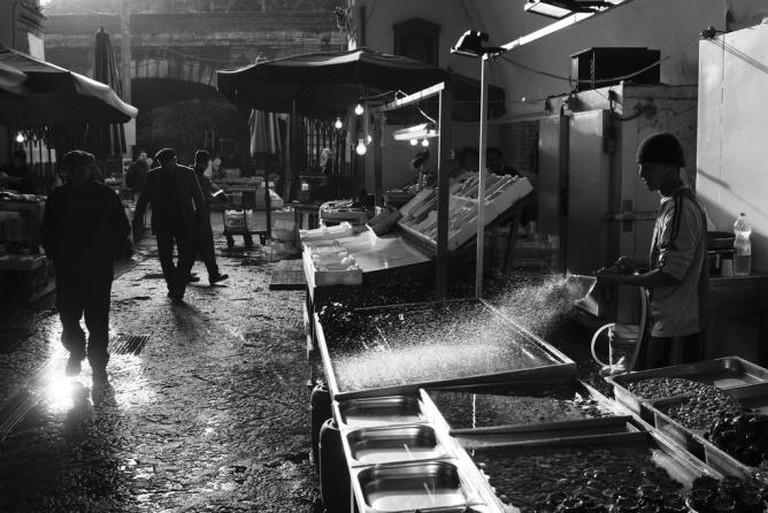 Catania Fish Market l