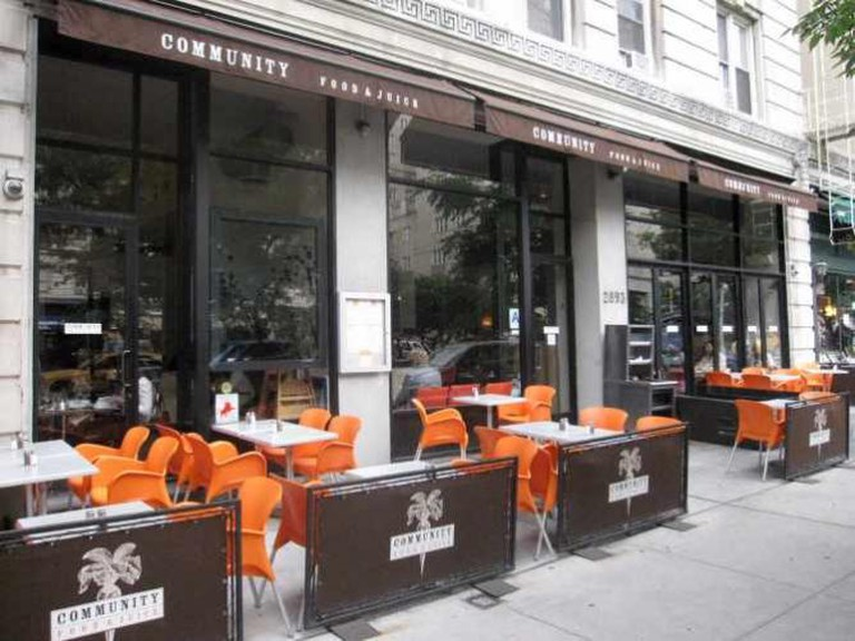 Community Food & Drink patio seating | ©Philip/Columbia Eats