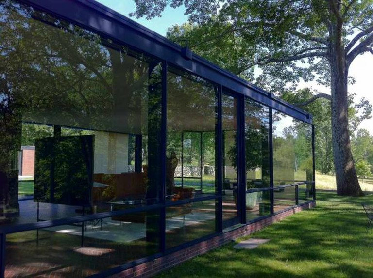 Philip Johnson's Glass House | © Edelteil/WikiCommons