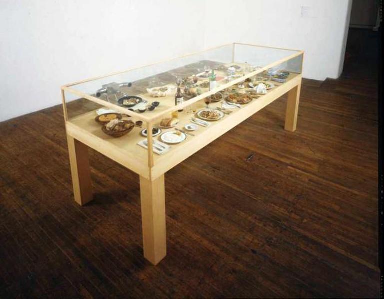 Roxy Paine's Dinner of the Dictators at the Katonah Museum of Art   © WikiCommons