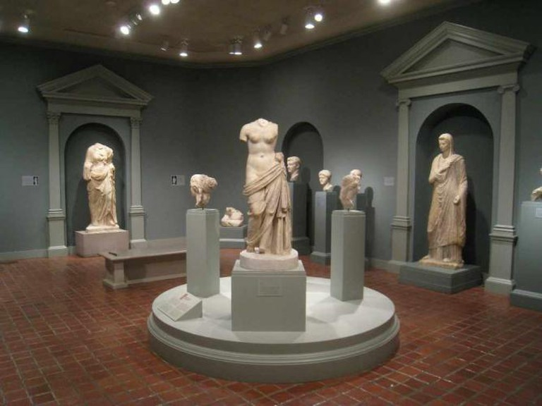The classical sculpture collection at the Worcester Art Museum | © Daderot/WikiCommons