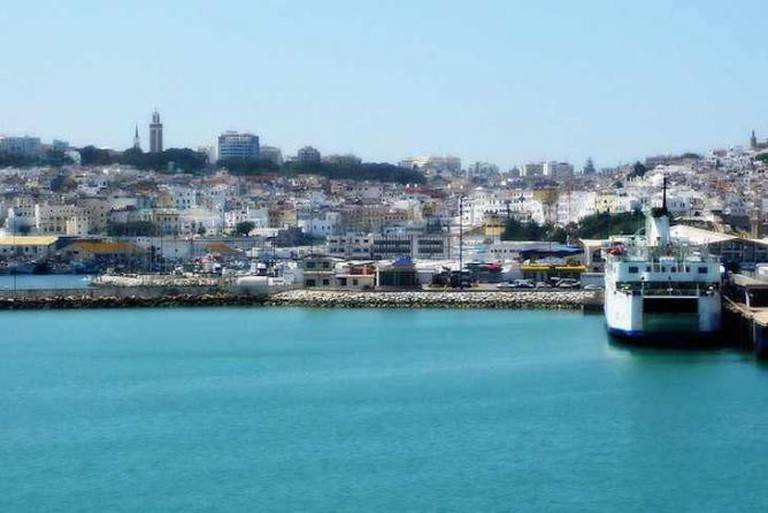 Port of Tangier, Morocco