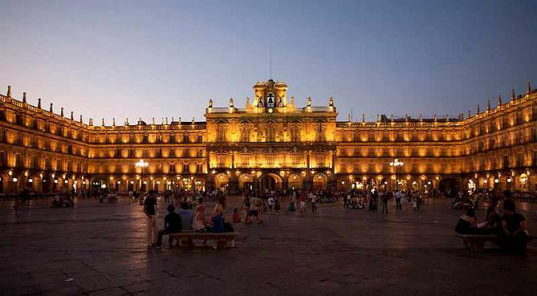 The dazzling Plaza Mayor