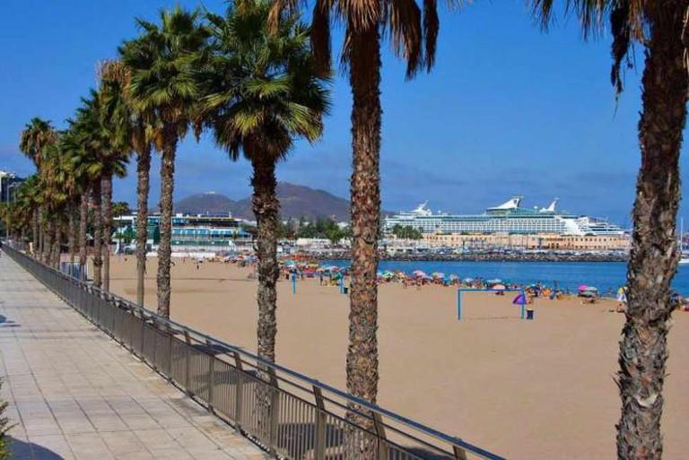 La Playa de Las Alcaravaneras